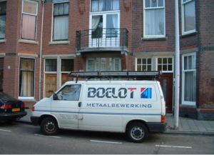 Bedrijfswagen Boelot